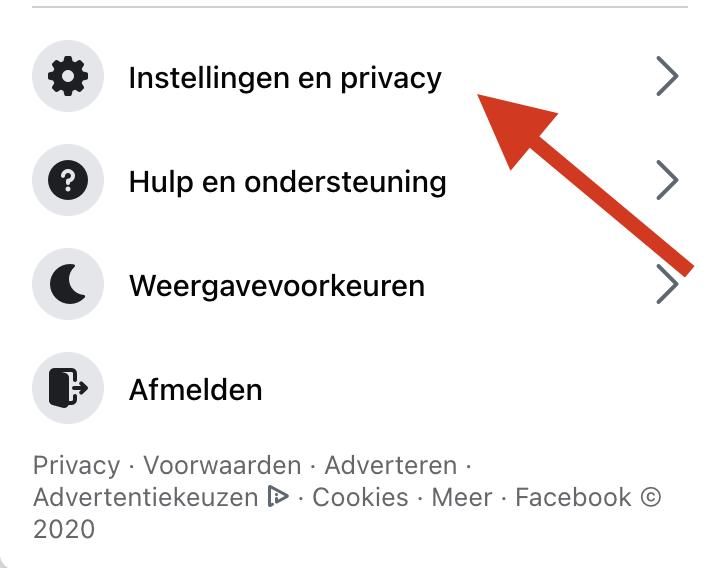 Naam Veranderen Op Facebook stap 2 veiligadverteren.nl